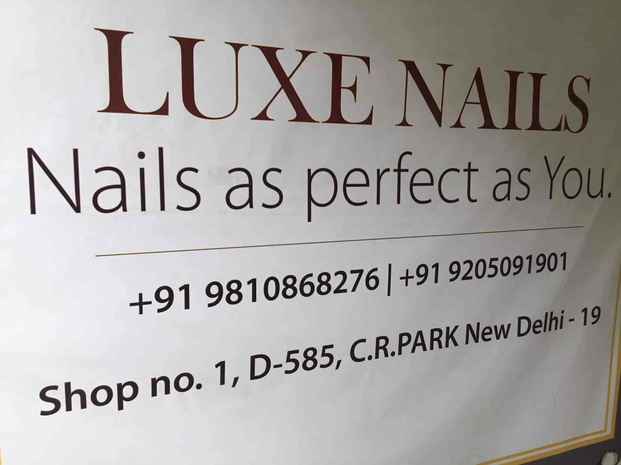 Luxe Nails, C R Park - Beauty Parlours For Nail Extension in Delhi ...