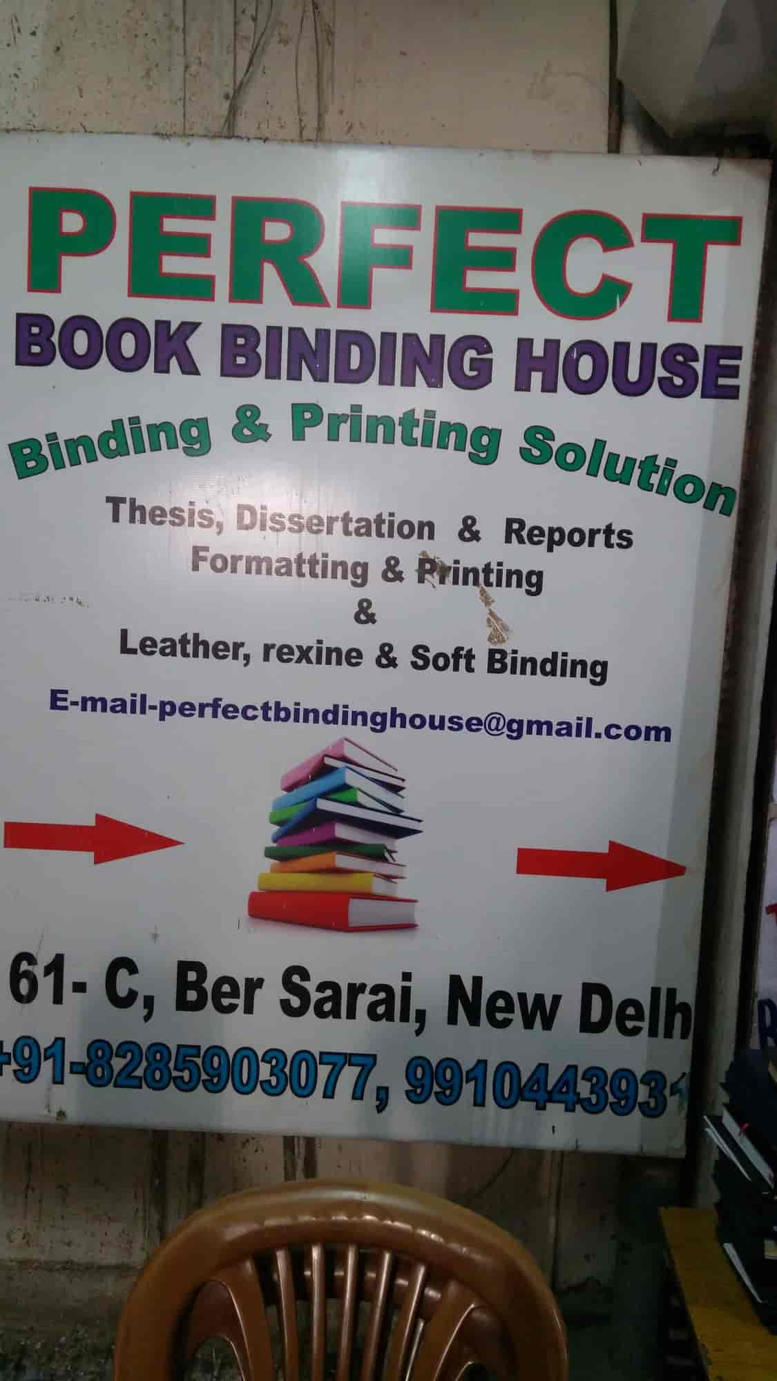 ber sarai thesis binding