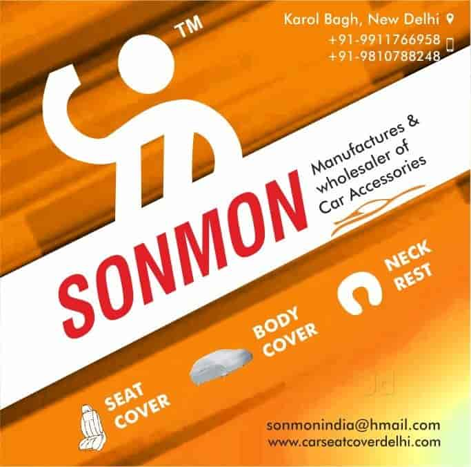 Sonmon Car Seat Cover, Karol Bagh - Car Seat Cover Manufacturers in