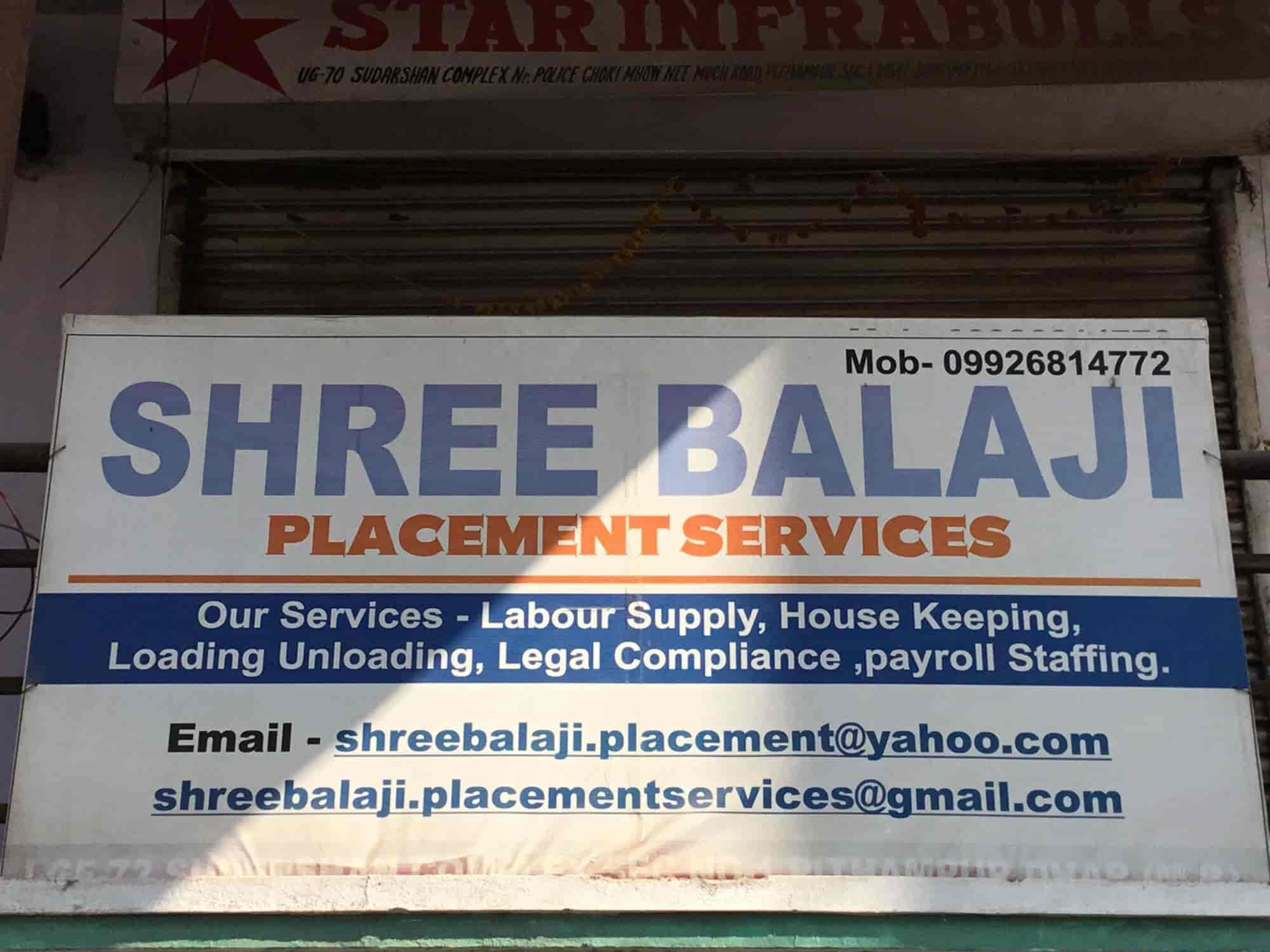 Shree Balaji Placement Services & Payroll Staffing Services