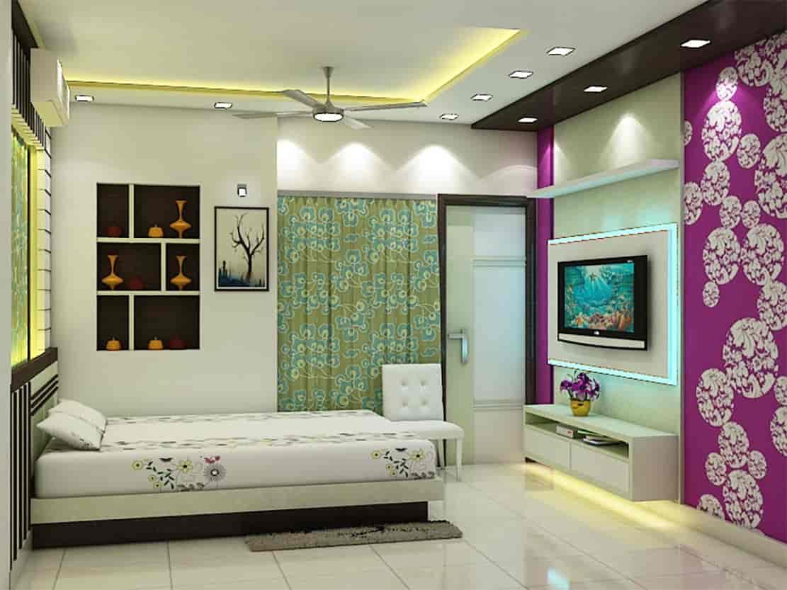 Wallpaper Interior Design, City Centre Durgapur   Interior Designers In  Durgapur   Justdial