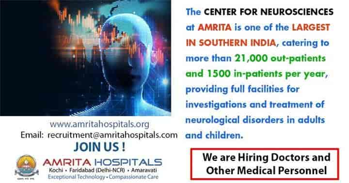 Amrita Pediatric Neurology Fellowship