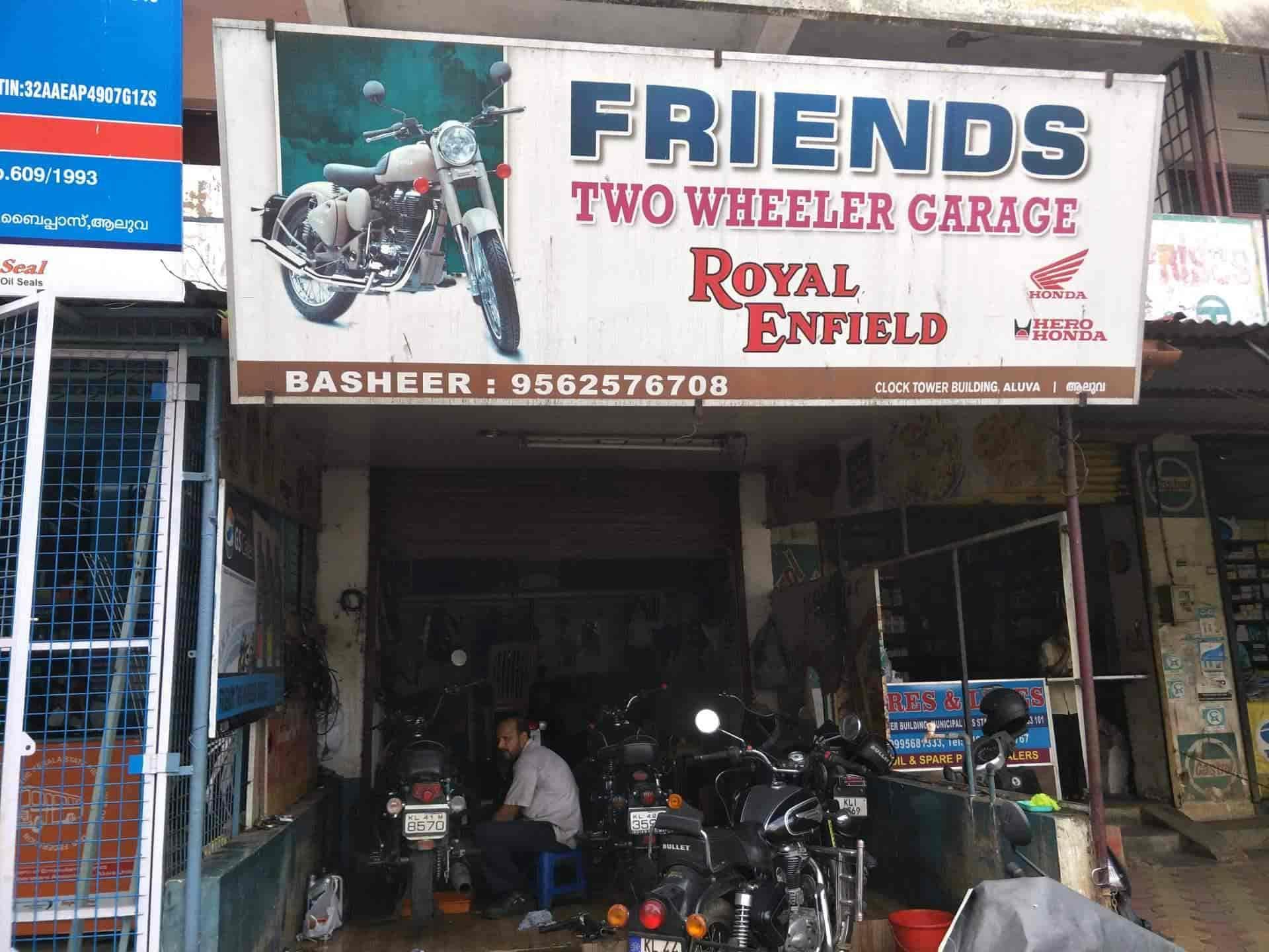 Friends Two Wheeler Garage, Aluva - Motorcycle Repair