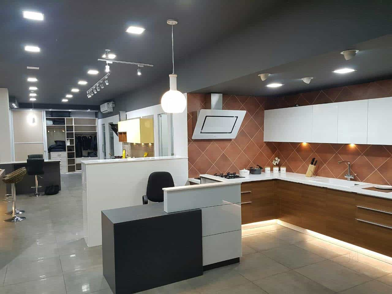 ... Modular Kitchen Model   Sleek Modular Kitchen Photos, Vyttila,  Ernakulam   Modular Kitchen Dealers ...