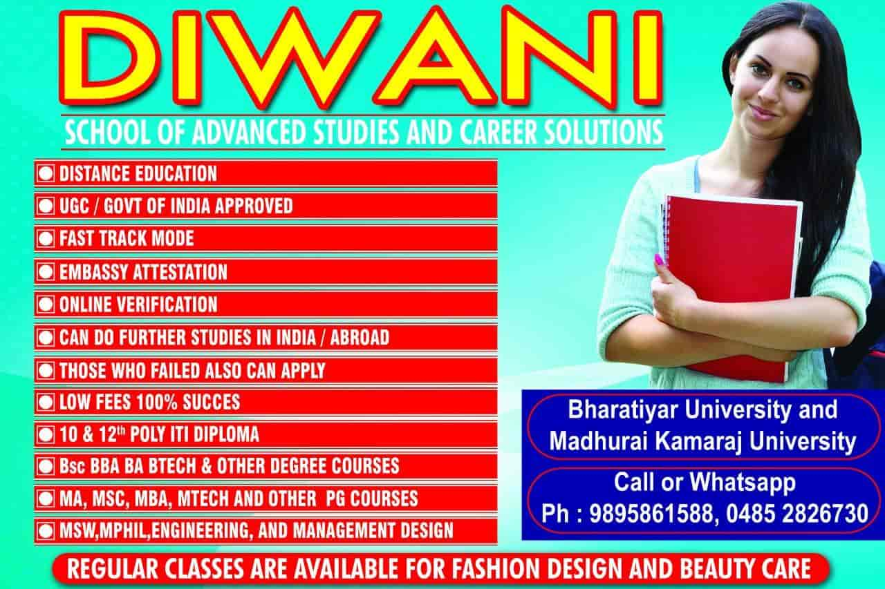 Diwani School Of Fashion Designing Kothamangalam Beautician Institutes In Ernakulam Justdial