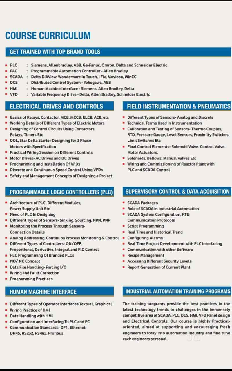 Ipcs Automation Computer Training Institutes In Ernakulam Justdial Omron Proximity Switch Wiring Diagram