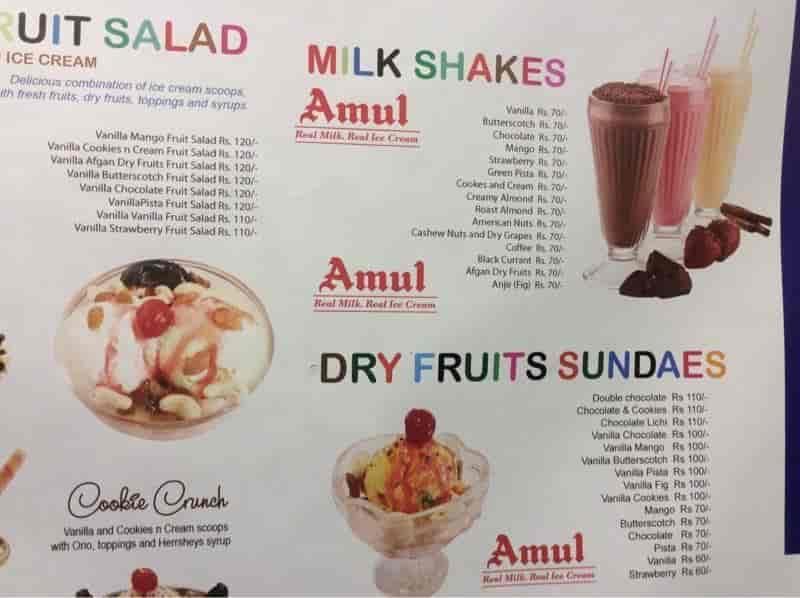 Amul Ice Cream Parlour, Kaloor, Ernakulam - Ice Cream