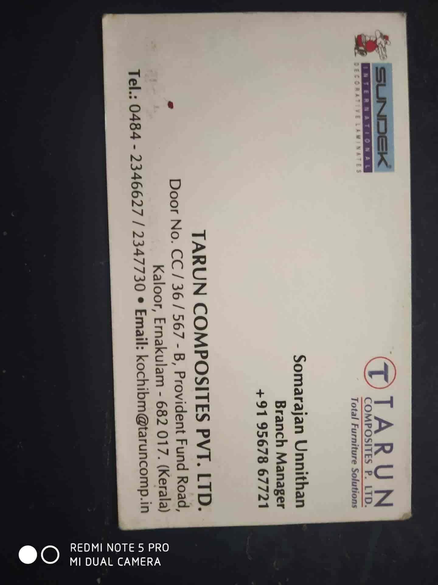 Tarun Composites Pvt Ltd, Kaloor - Laminate Dealers in Ernakulam