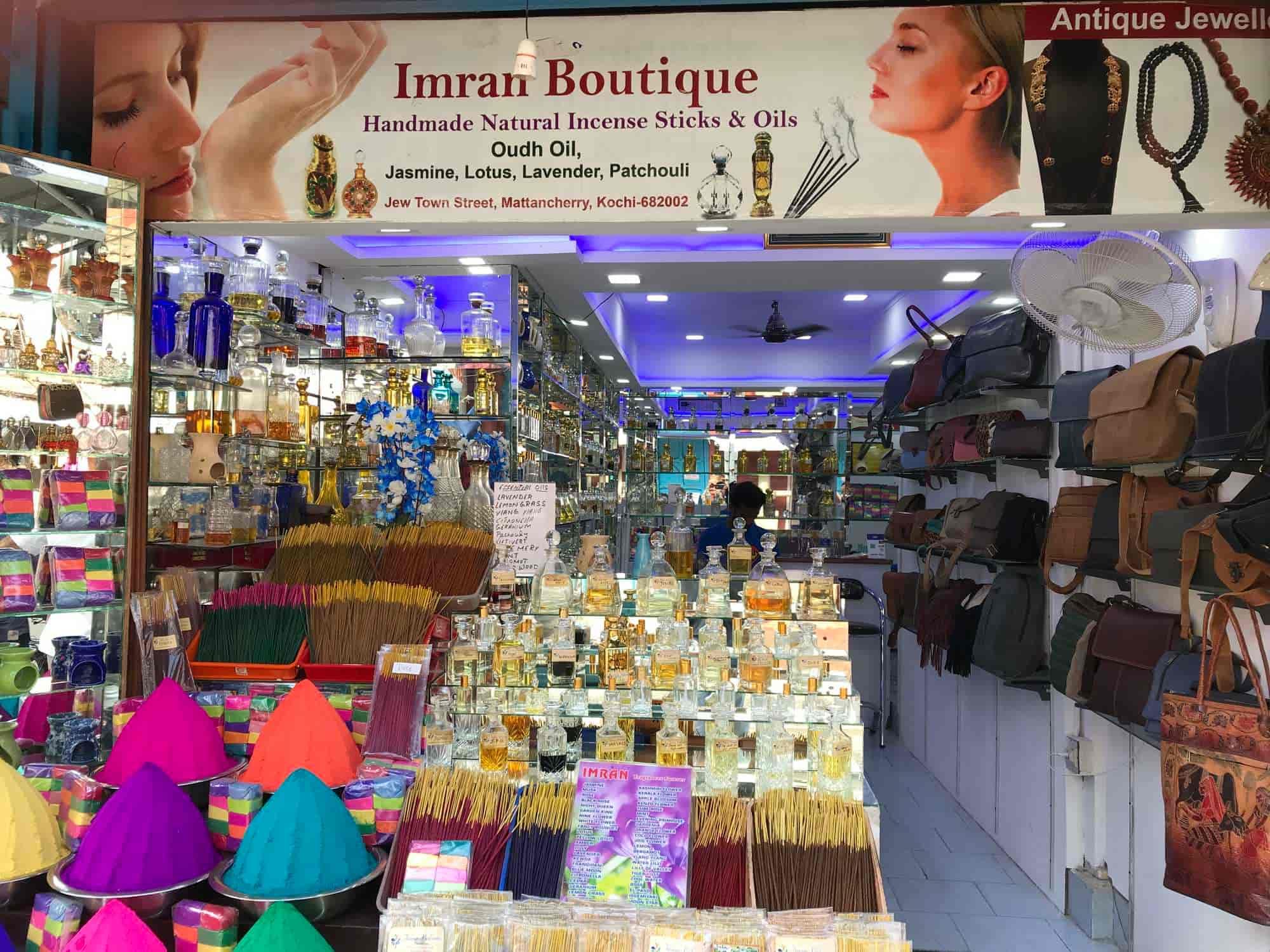 Imran Shop Hand Made Natural Incense & Perfume Oils, Mattancherry