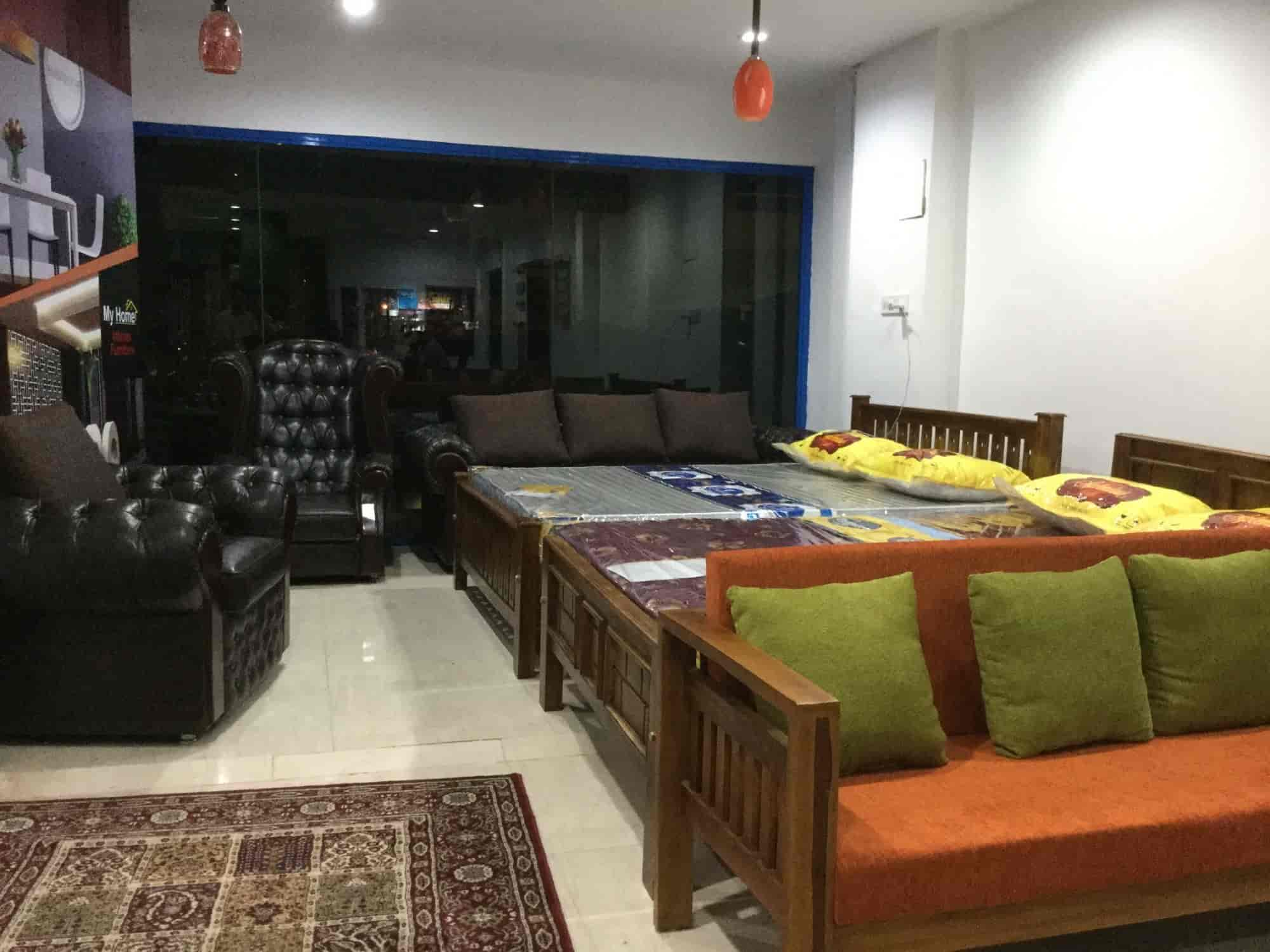 Inside view of furniture shop my home interior furniture photos vyttila ernakulam