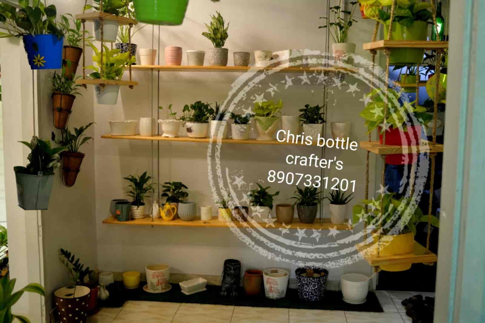 ... Chris Bottle Crafters Indoor Home Garden Photos, Kolenchery, Ernakulam    Bonsai Plant Dealers ...