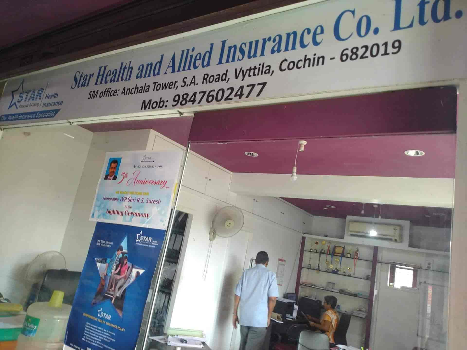 Star Health Allied Insurance Company Ltd Vyttila Insurance In