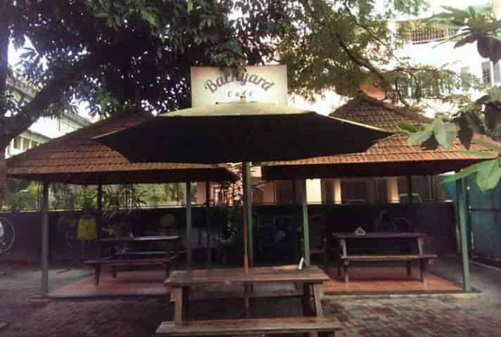 Backyard Cafe backyard cafe photos, kacheripady, ernakulam- pictures & images