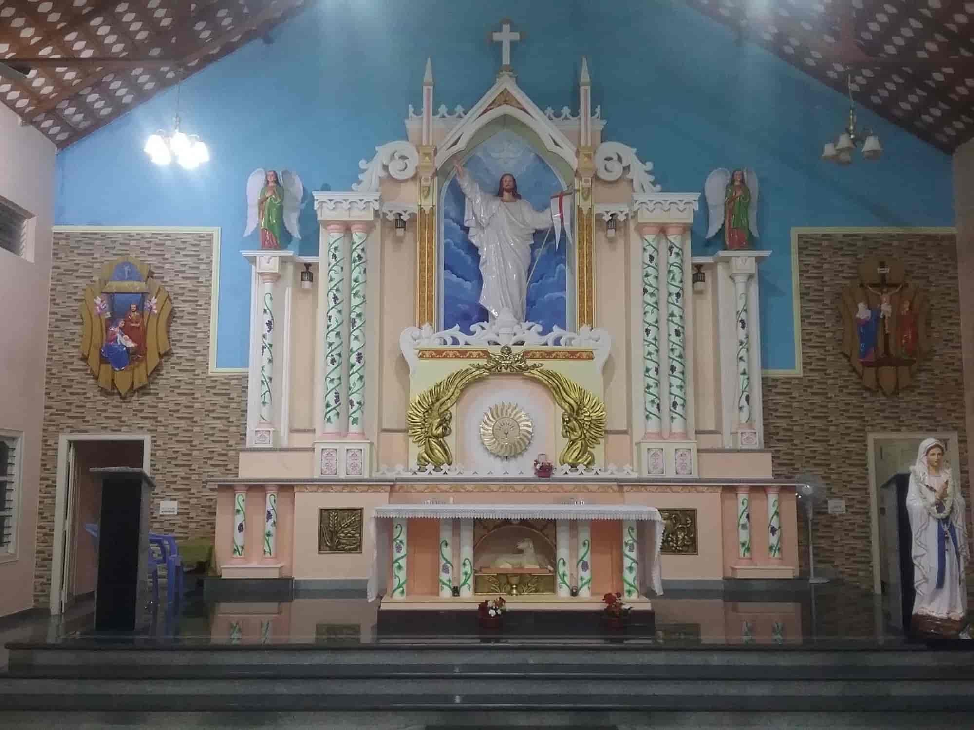 ... Interior Design For Church   Bosco Decor   Church Interiors Photos,  South Chittoor, Ernakulam