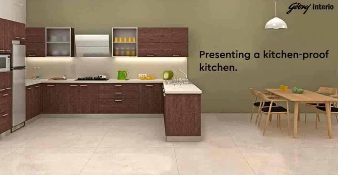 Godrej Kitchen Gallery Chengampuzha Modular Kitchen Dealers In