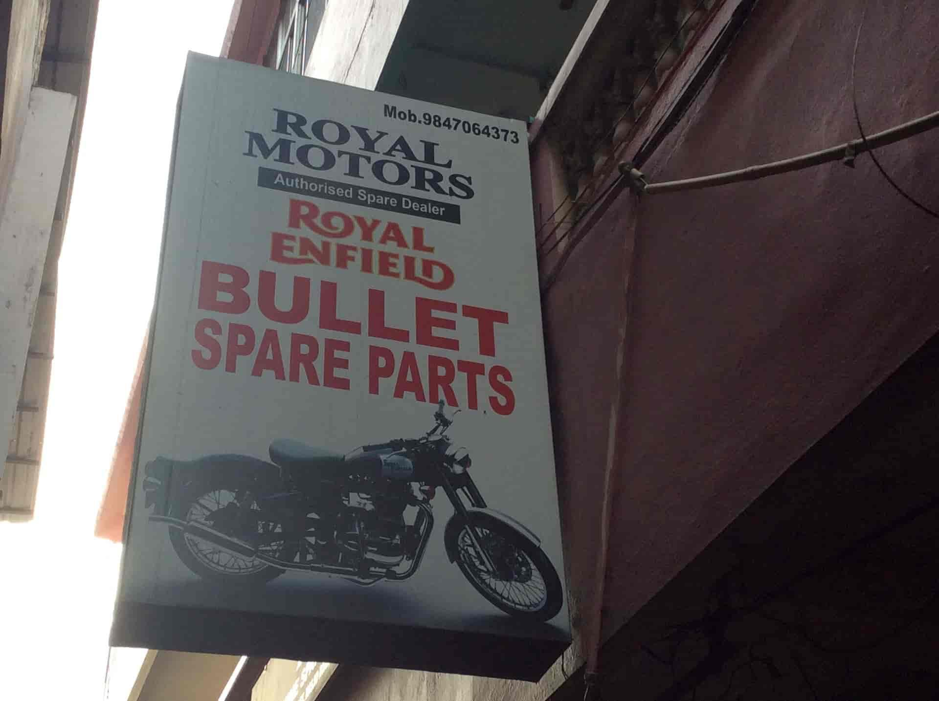 Royal Motors, Aluva - Motorcycle Part Dealers in Ernakulam