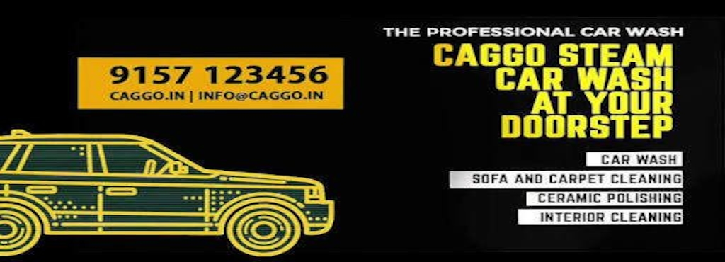 Caggo Steam Car Wash At Your Door Step Kakkanad Car Washing