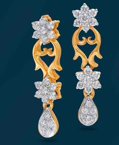 04322986f6a52 American Diamond Earrings Grt - Best All Earring Photos Kamilmaciol.Com