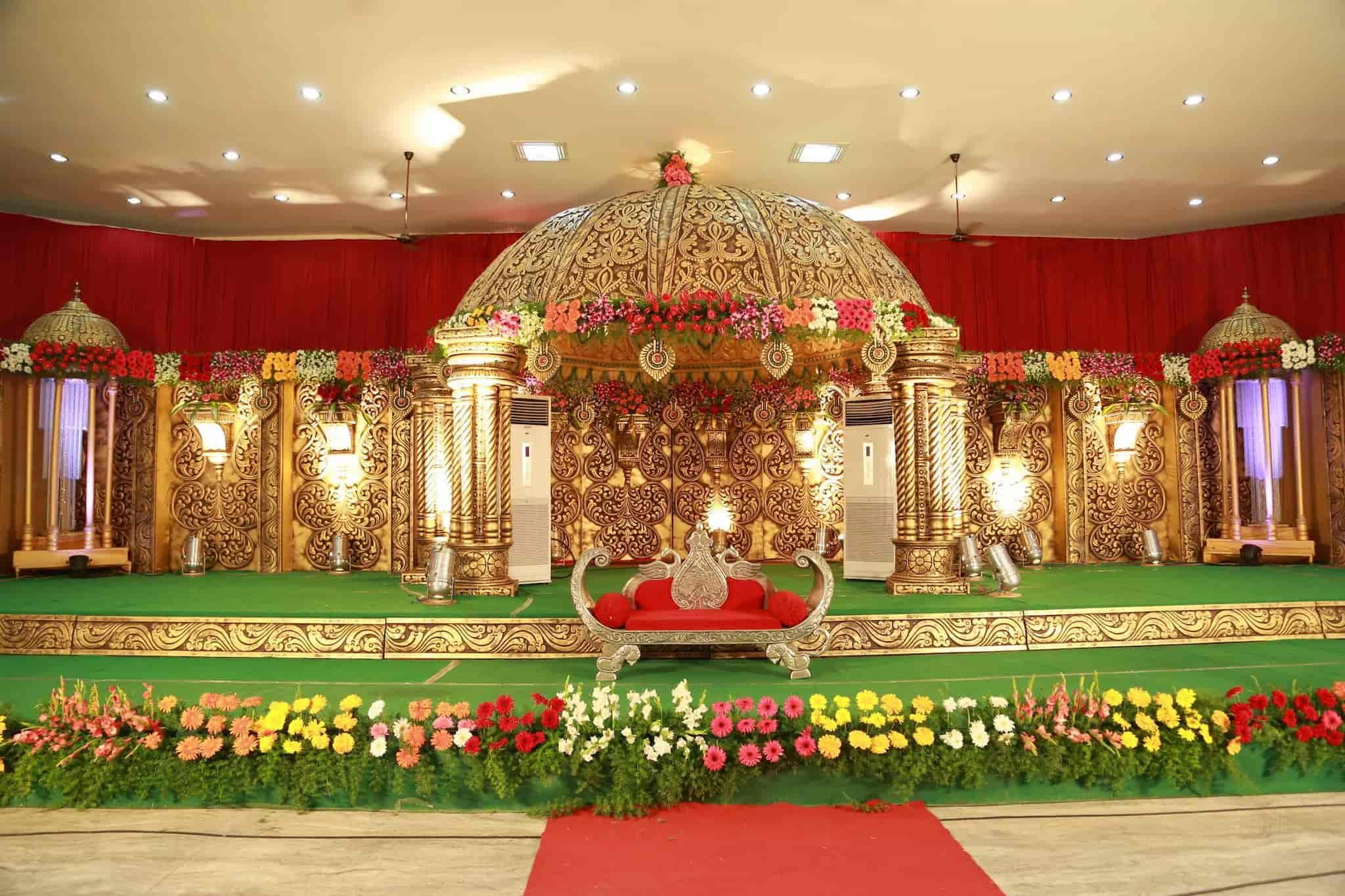 Wedding Stage Decoration Suki Hi Gienic Decorators A To Z Photos Railway Colony