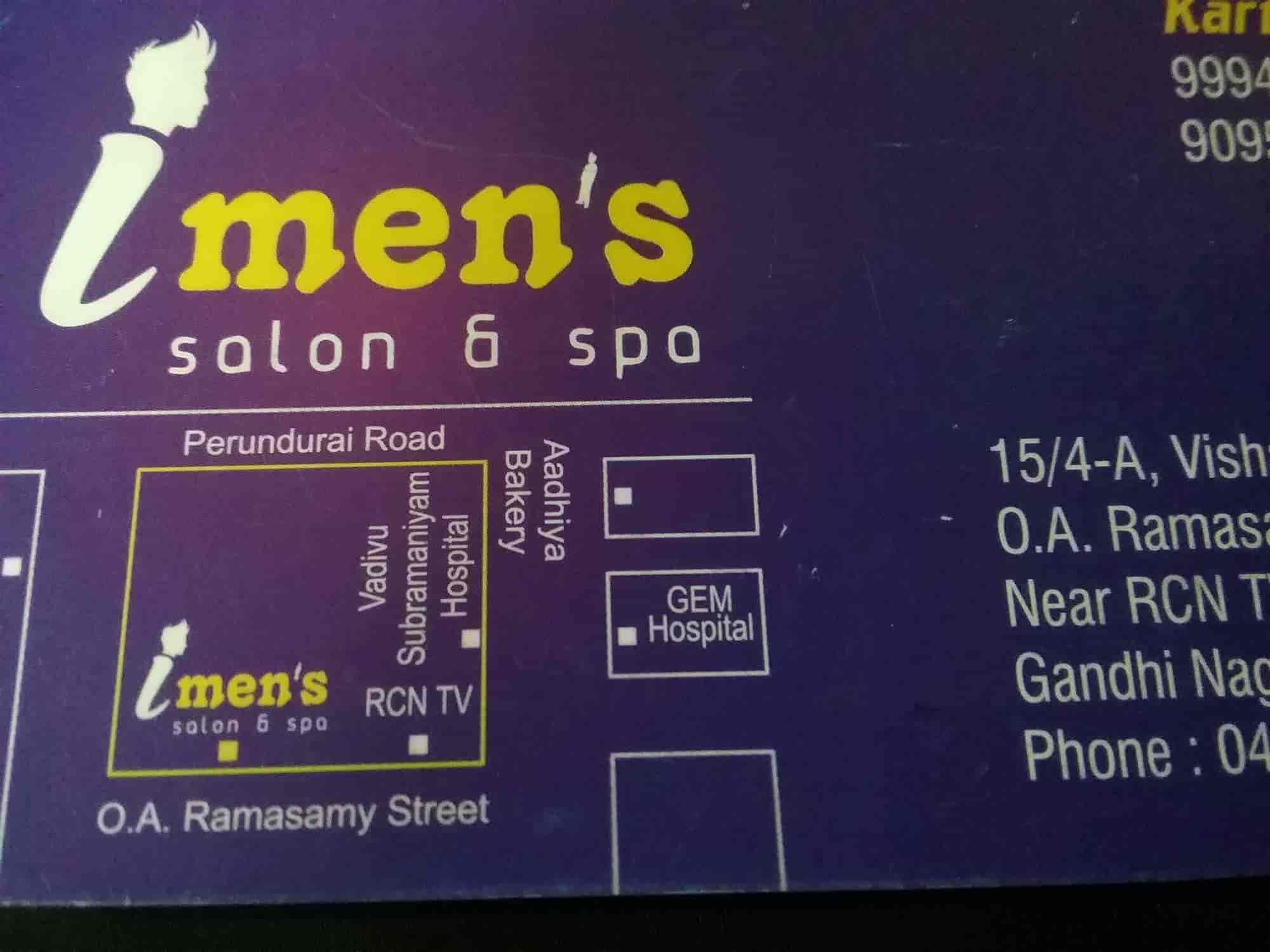 I Mens Saloon And Spa, Edayankattuvalsu - Beauty Spas in