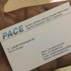 Pace Stock Broking Services Pvt Ltd, Erode Collectorate - Share