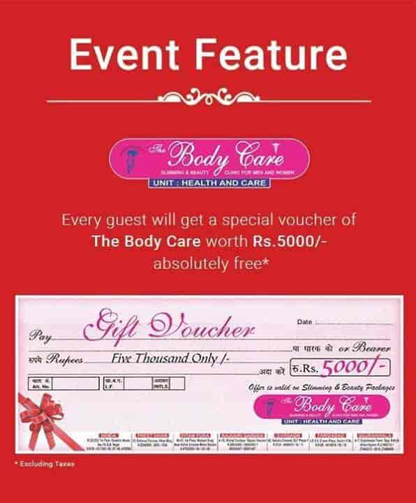 The Body Care Slimming And Beauty Clinic, Sector 15a