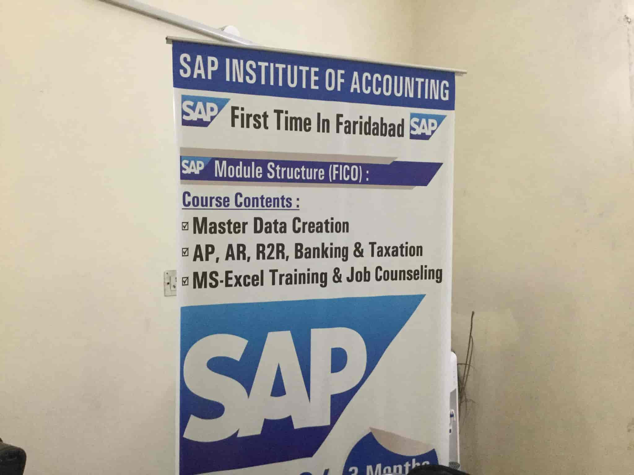 SAP Institute Of Accounting, Faridabad Nit - SAP Training