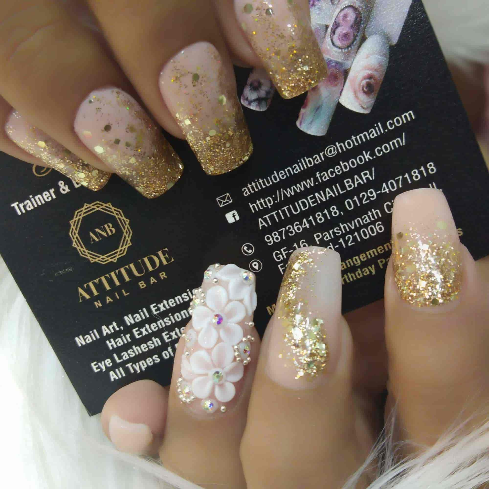 Attitude Nail Bar, Sector 12 - Beauty Parlours For Nail Art in Delhi - Justdial