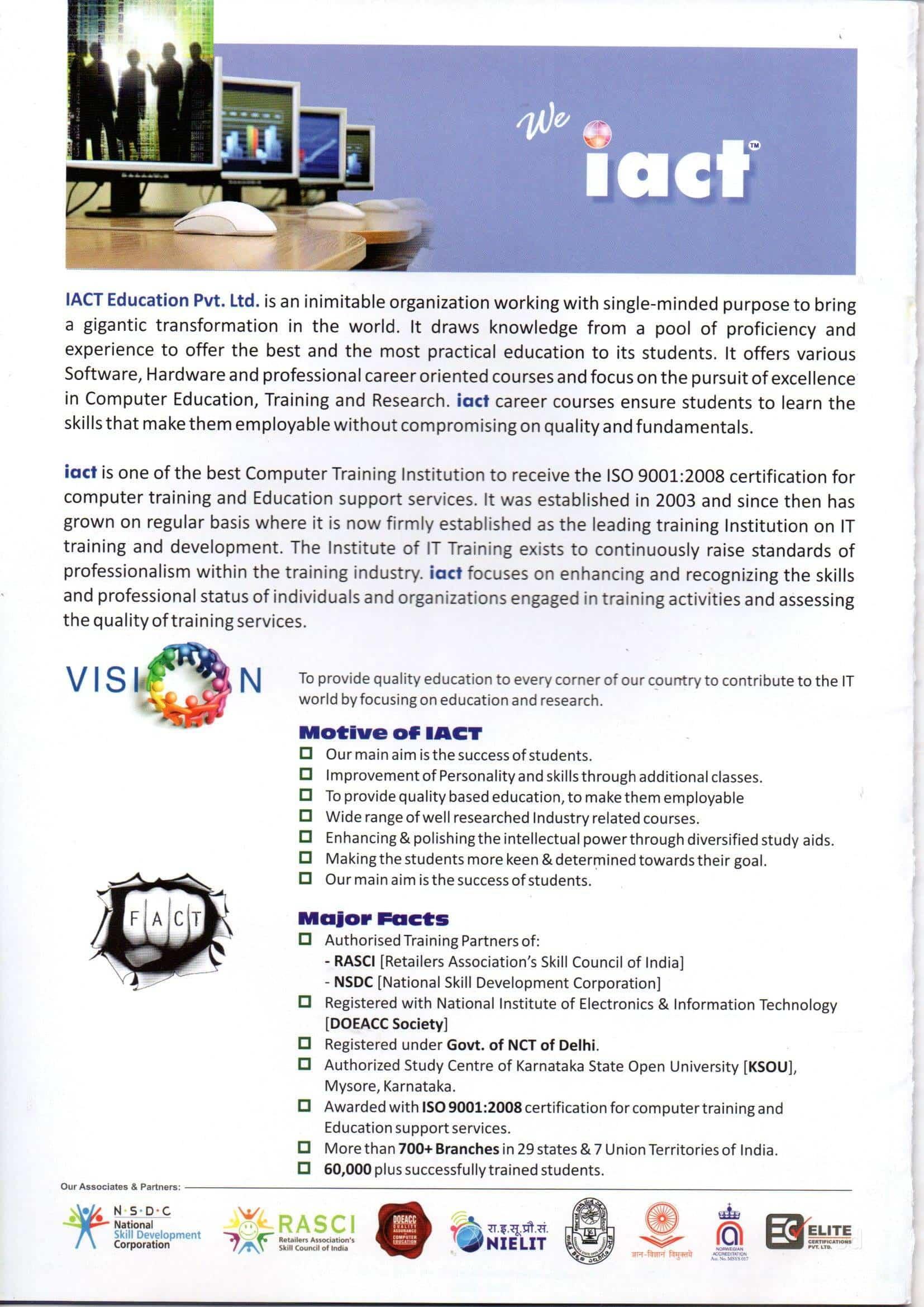 Iact Sai Computer Center Photos Friends Colony Delhi Pictures