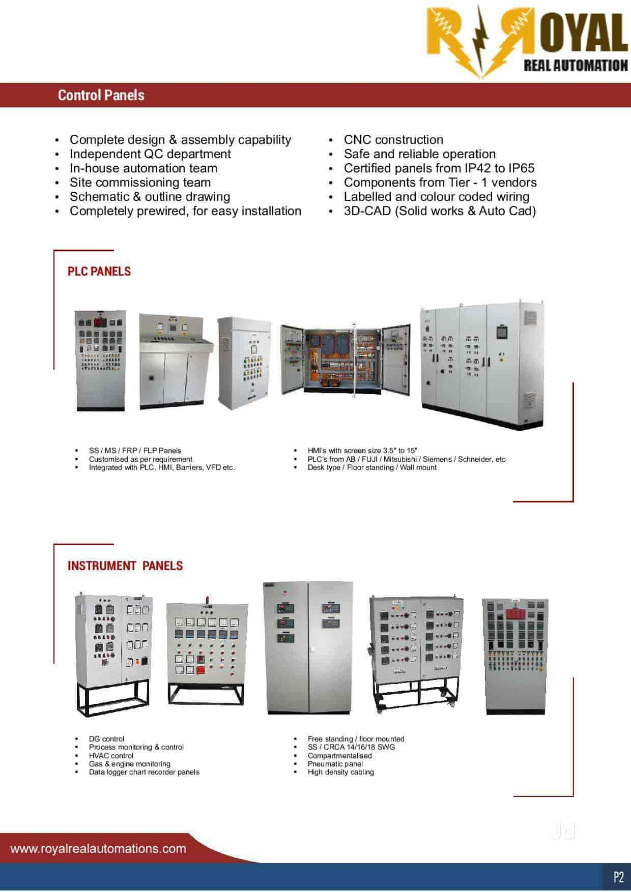 Royal Real Automation Photos Kalyan Puri Faridabad Sector 48 Simple Pneumatics Schematics Free Image About Wiring Diagram And Delhi Control Panel