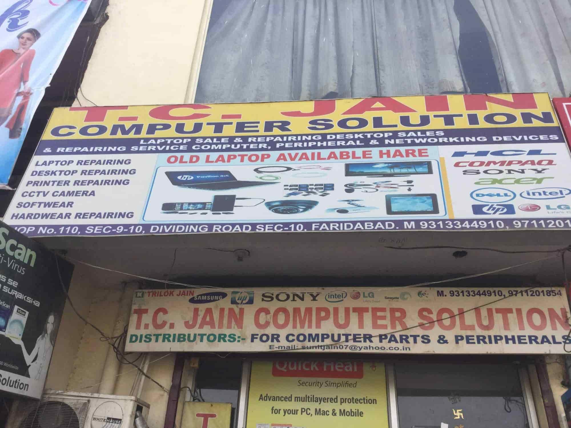 T C Jain Computer Solution Photos, Faridabad Sector 10, Delhi