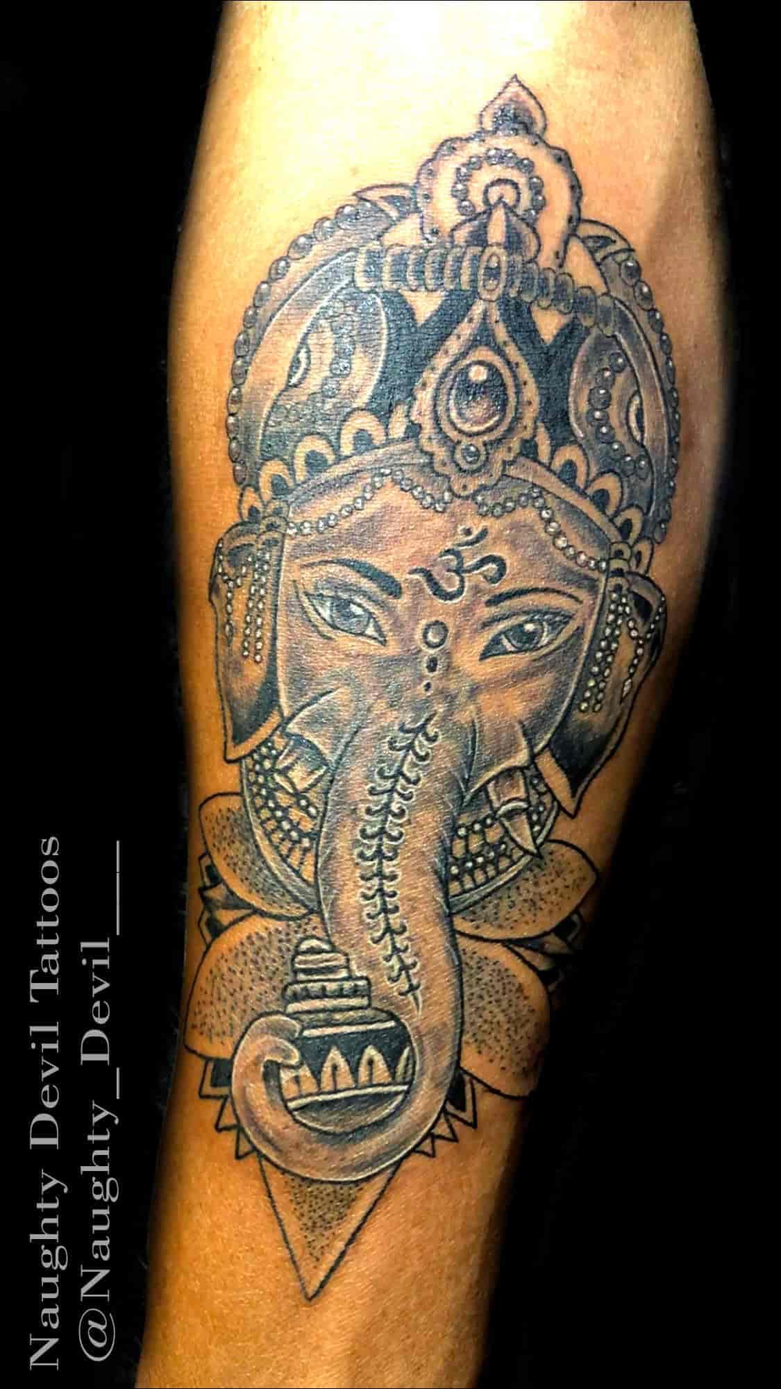 Naughty Devil Tattoo Kalol Tattoo Artists In Gandhinagar