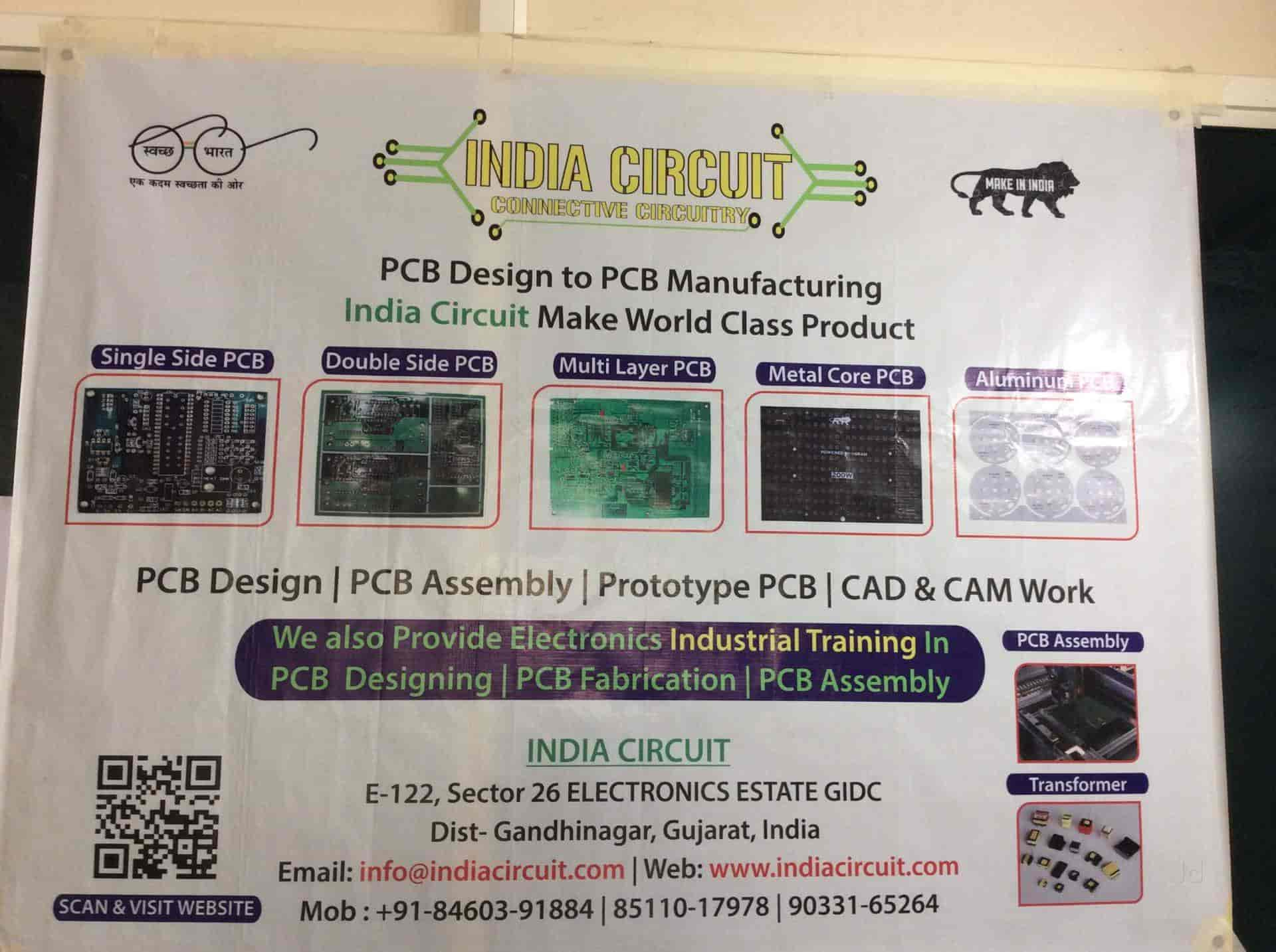 India Circuit Gandhinagar Sector 25 Printed Board Fabrication And Assembly Manufacturers In Gujarat Justdial