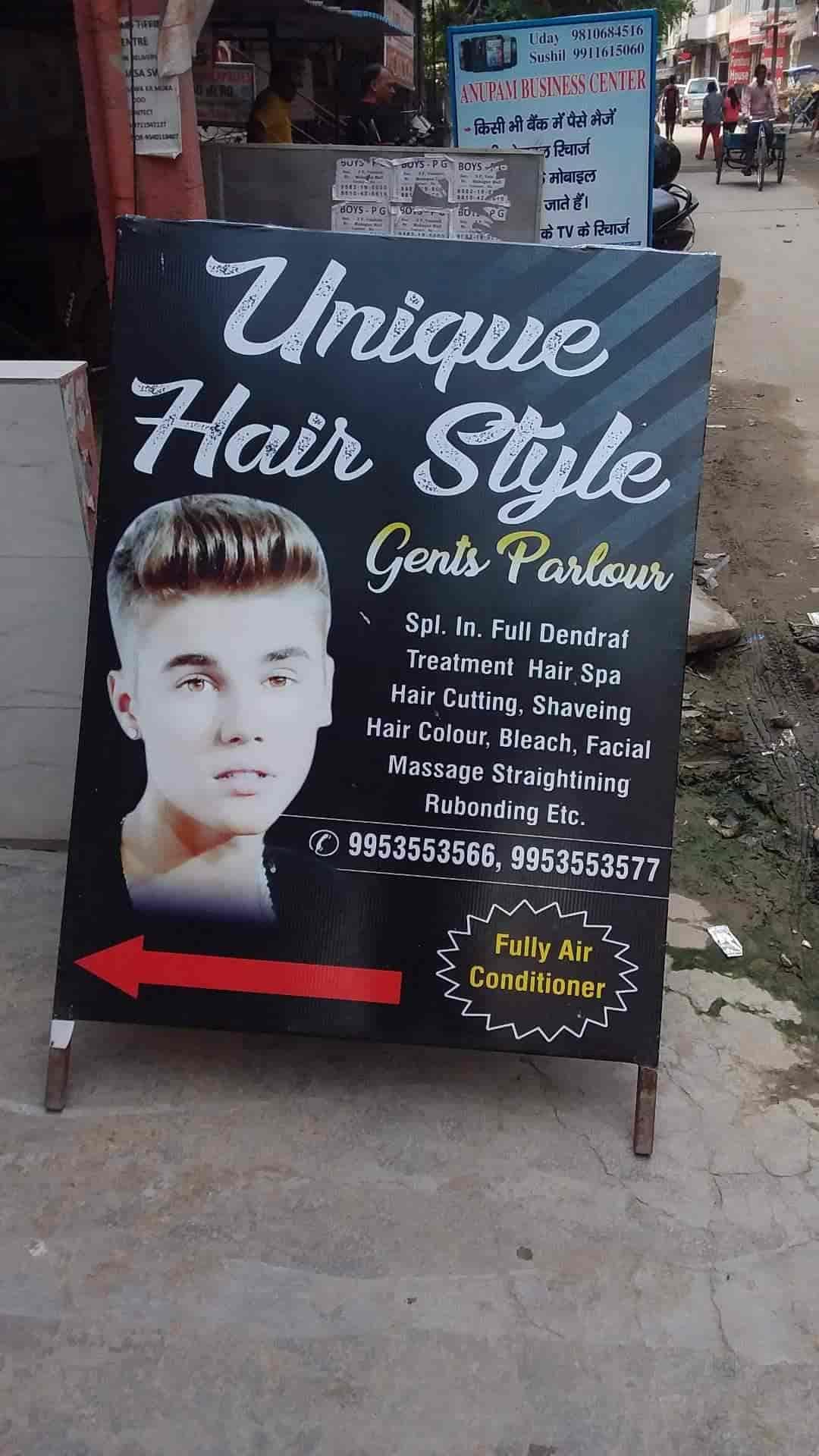 Unique Hair Style Gents Parlour Photos Vaishali Sector 3 Ghaziabad