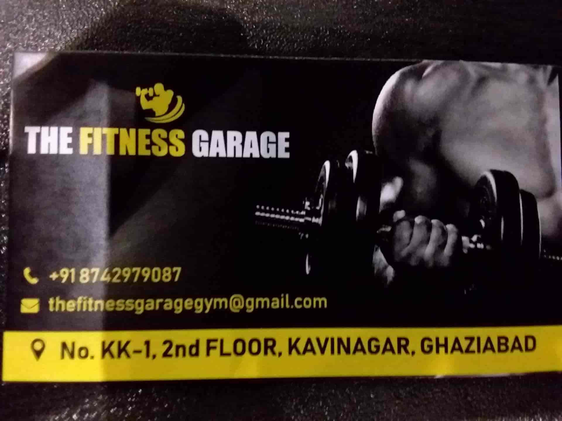 The fitness garage kavi nagar gyms in delhi justdial