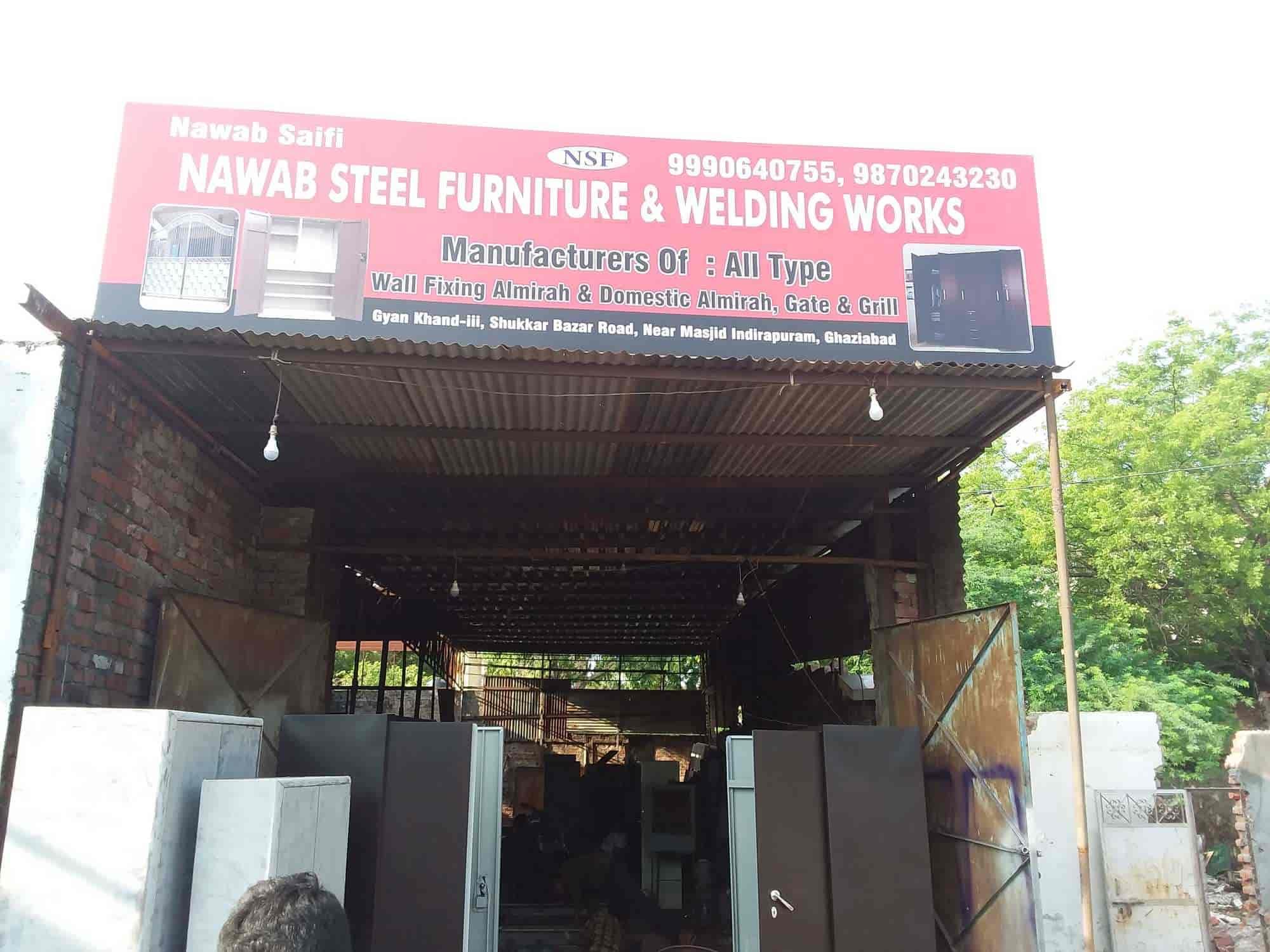 Nawab Steel Furniture Welding Works Photos, Indirapuram