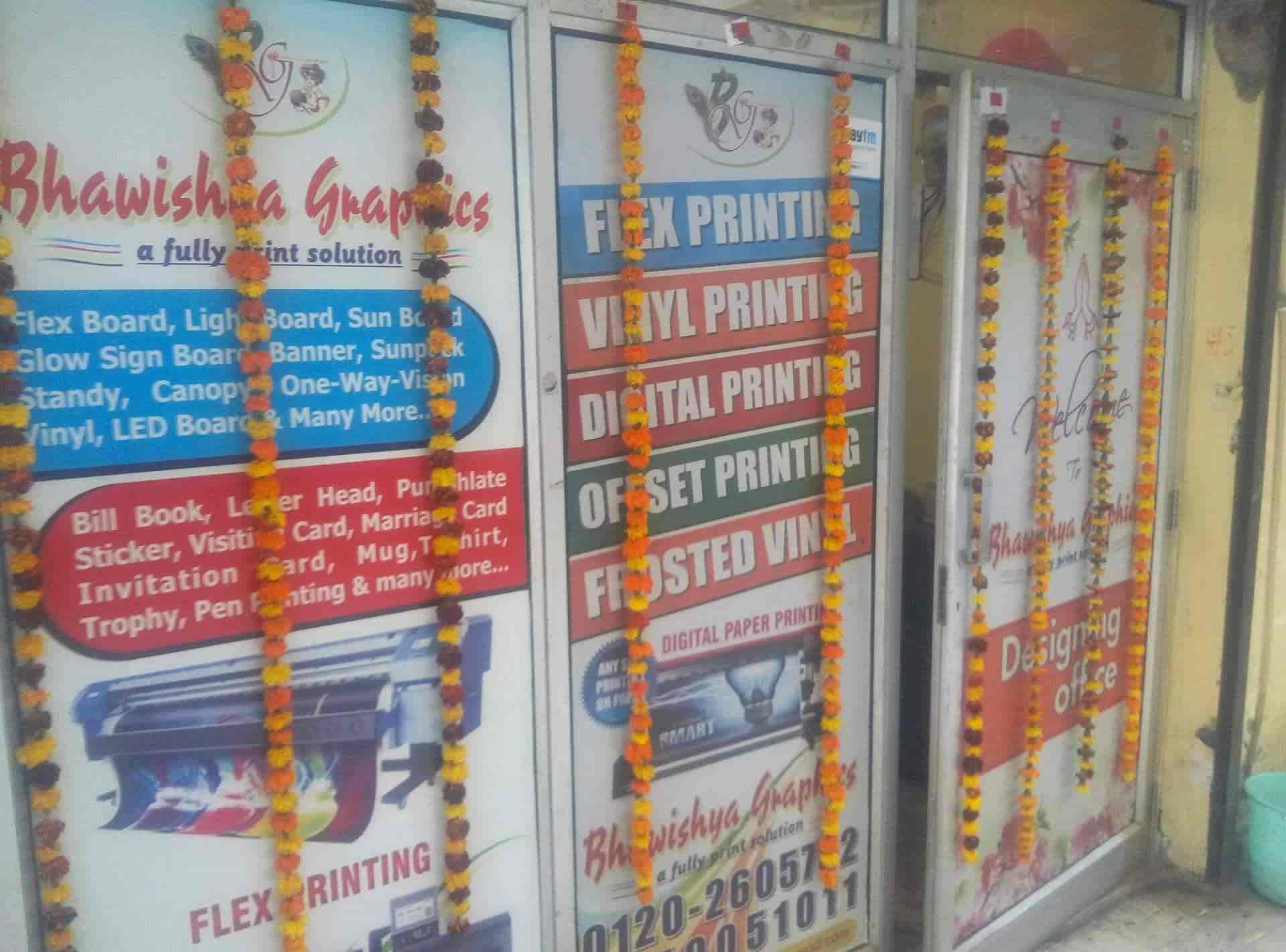 Bhawishya Graphics, Indirapuram - Flex Printing Services in