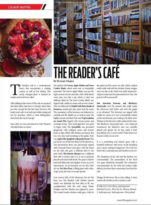 The Readers Cafe Photos, Indirapuram, Ghaziabad- Pictures