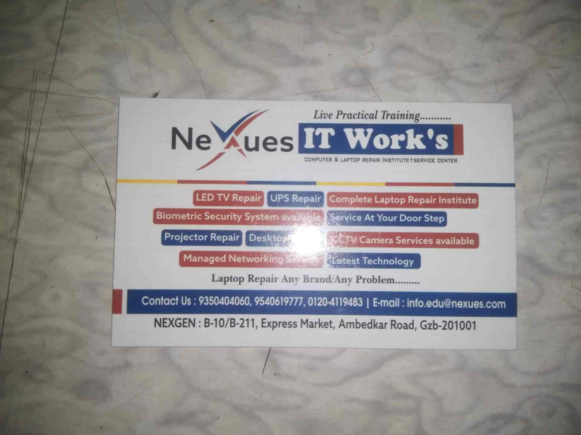 Nexues IT Work, Ambedkar Road - Computer Repair & Services