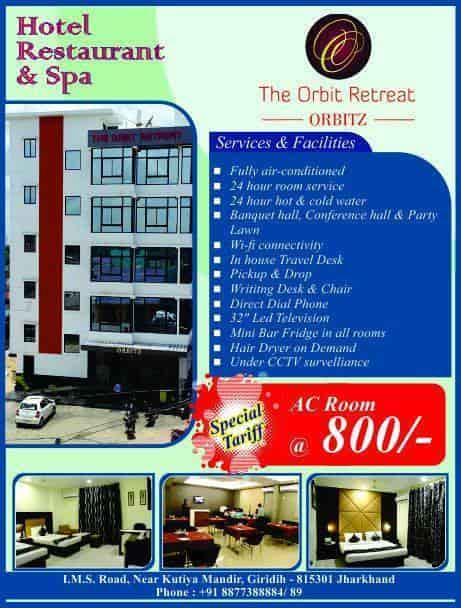 The Orbit Retreat, Giridih Ho - Hotels in Giridih - Justdial