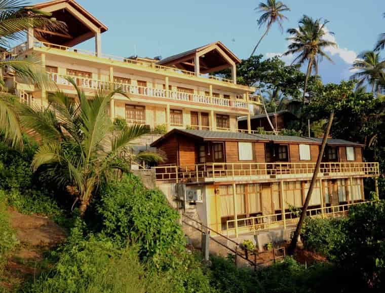 Exterior View Alcove Beach Resort Photos Vagator Goa Hotels