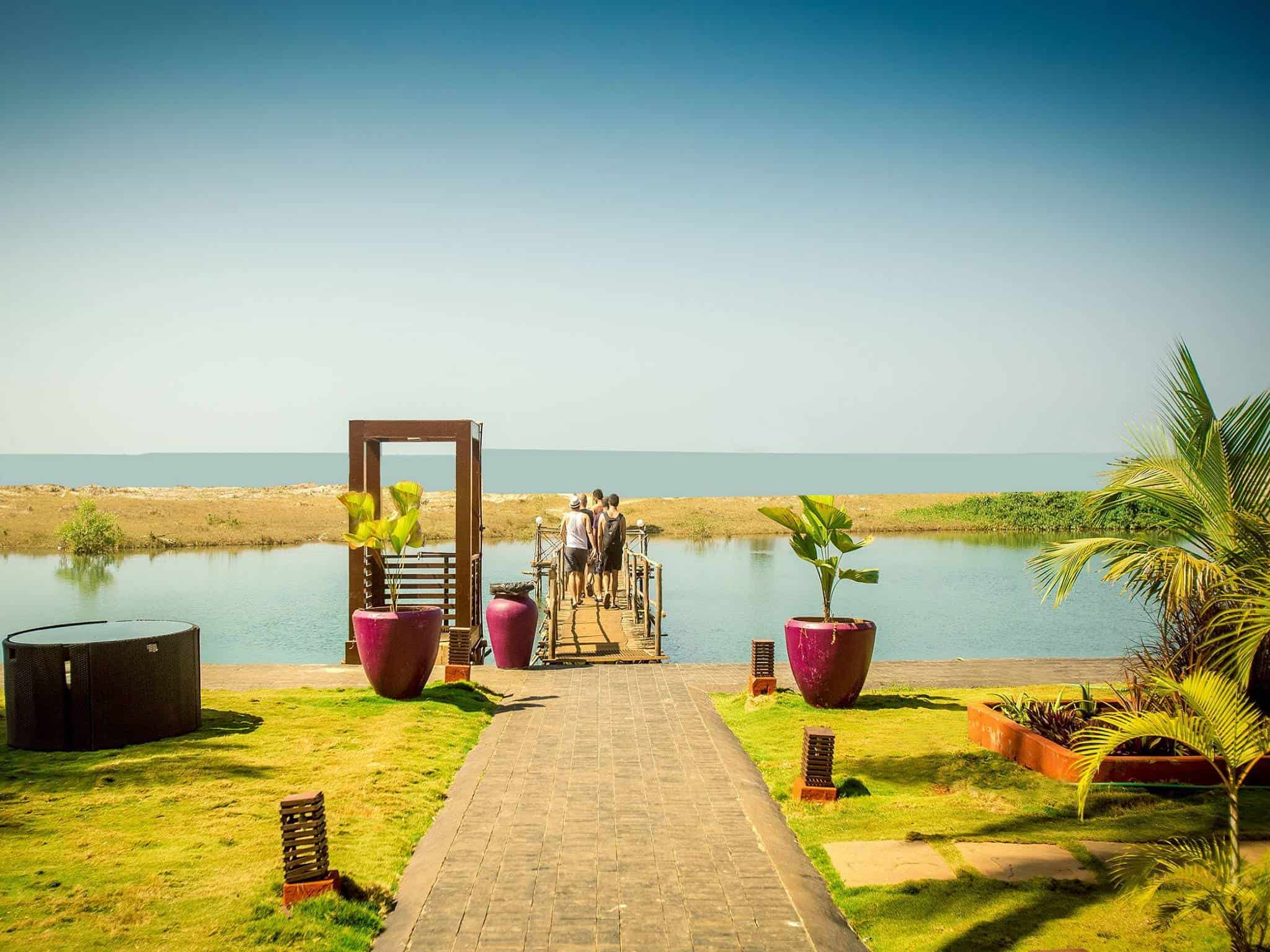 Resort Outer View Riva Beach Photos Mandrem Goa Resorts