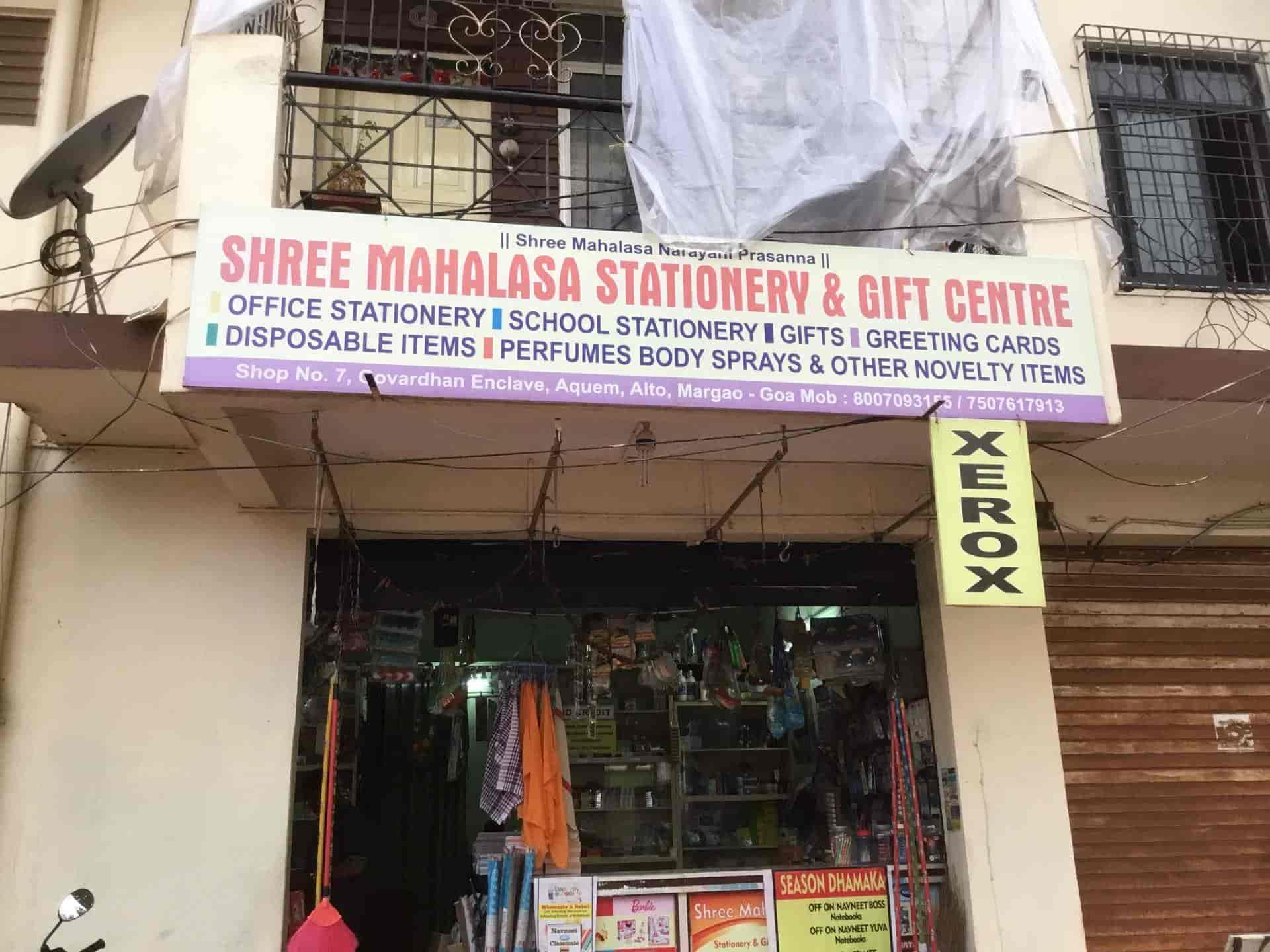 SHREE mahalasa stationery, Margao - Stationery Shops in Goa