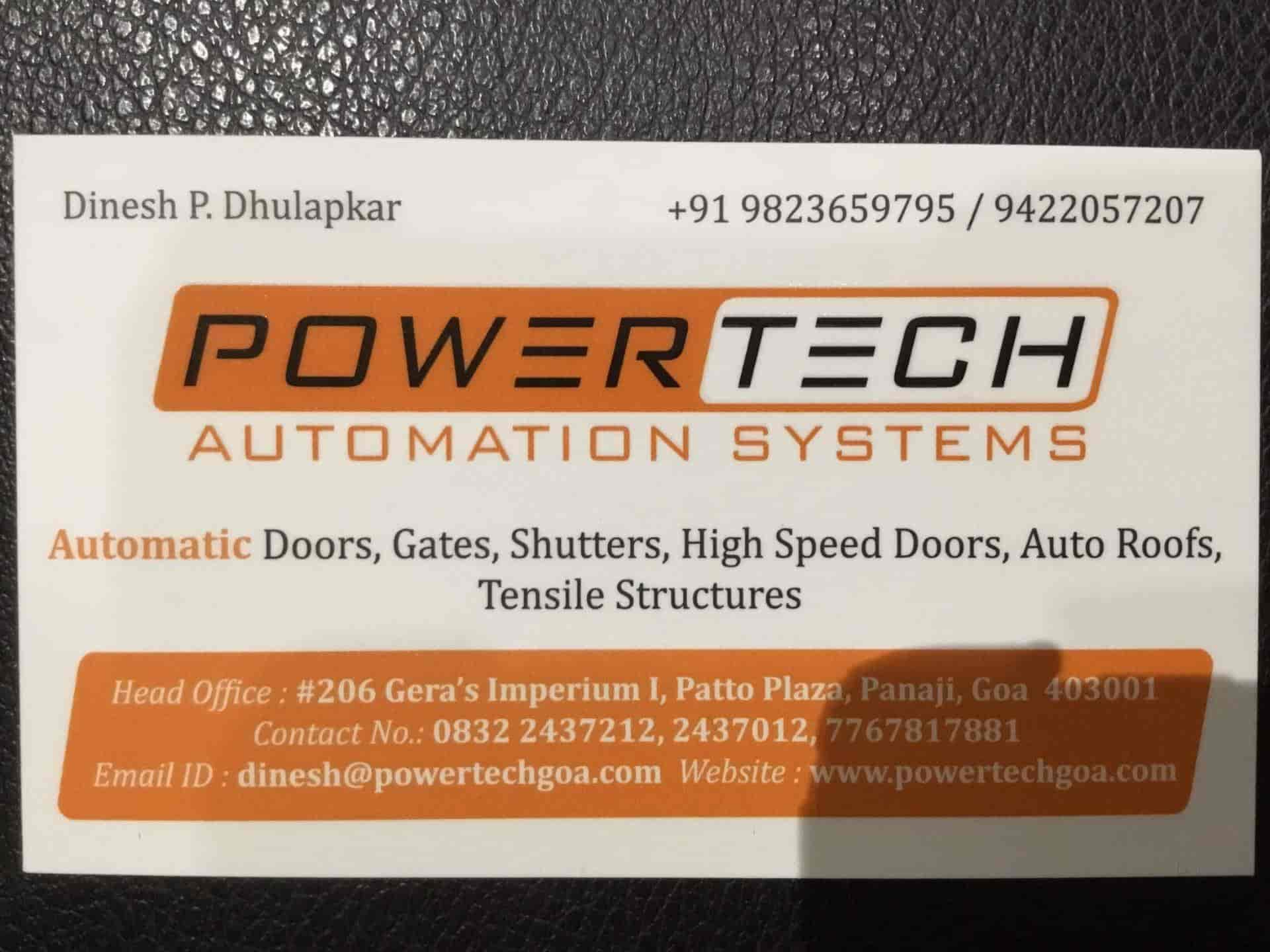 Powertech Automation Systems, Panjim - Biometric Access