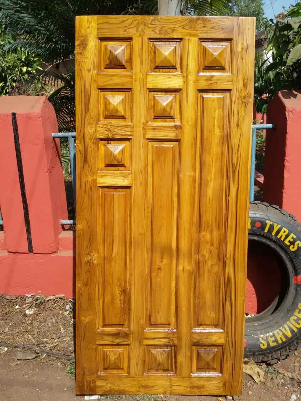 & Kalim Wooden Door Mapusa Duler - Wooden Door Dealers in Goa - Justdial