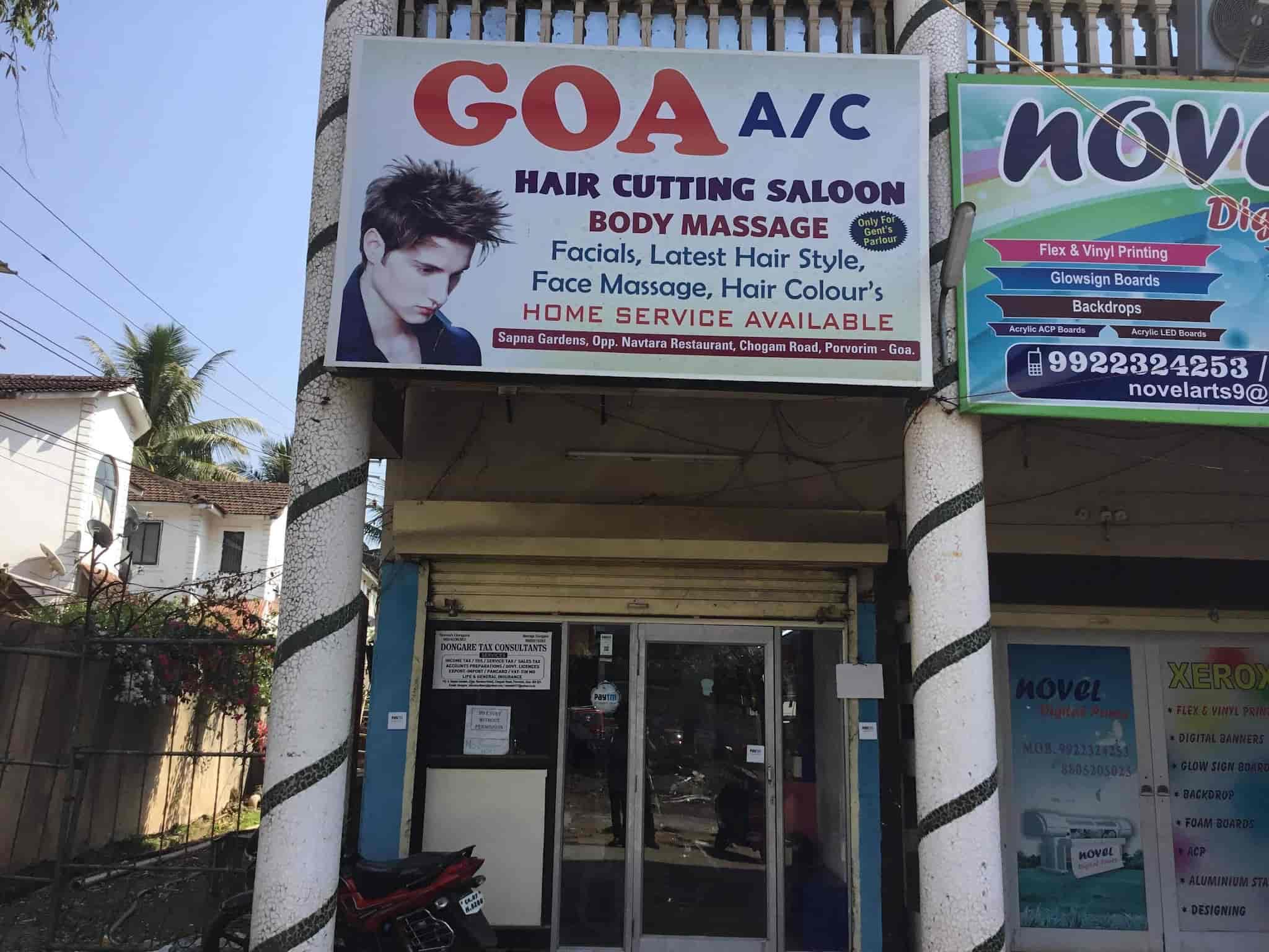 Goa Hair Cutting Salon Photos Porvorim Goa Pictures Images