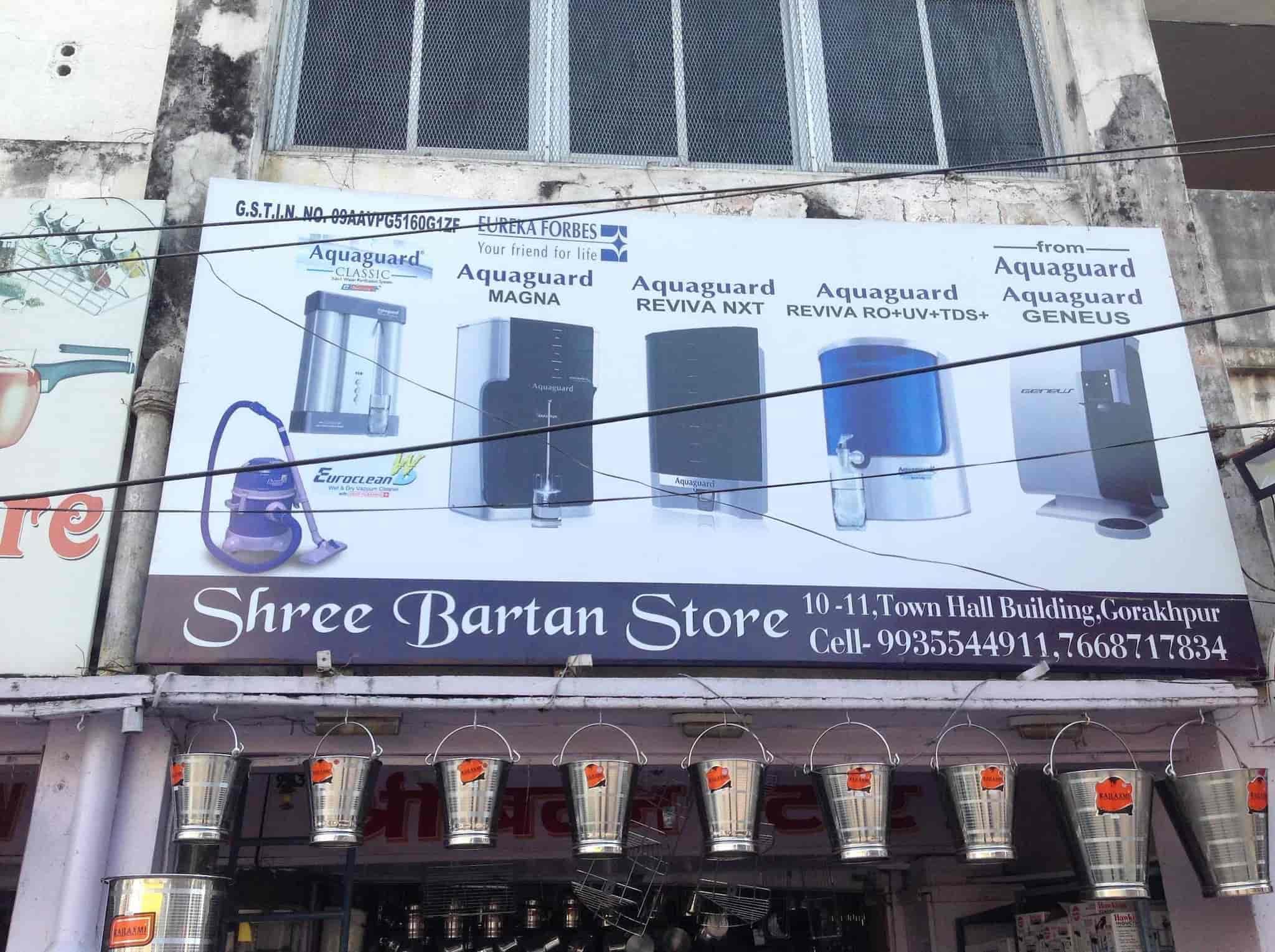 Shri Bartan Stores, Golghar - Ro Water Purifier Dealers in Gorakhpur ...