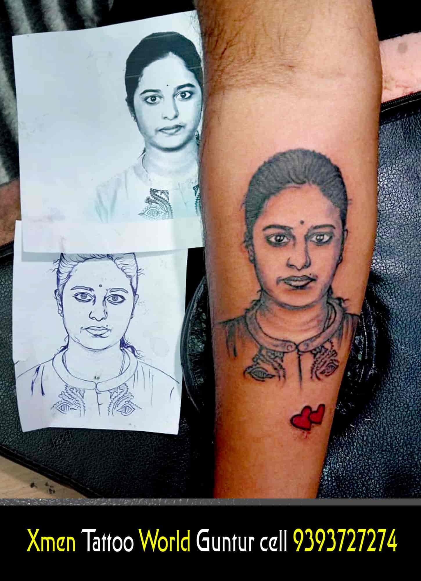 X Men Tattoo World Photos, Arundalpet, Guntur- Pictures & Images ...