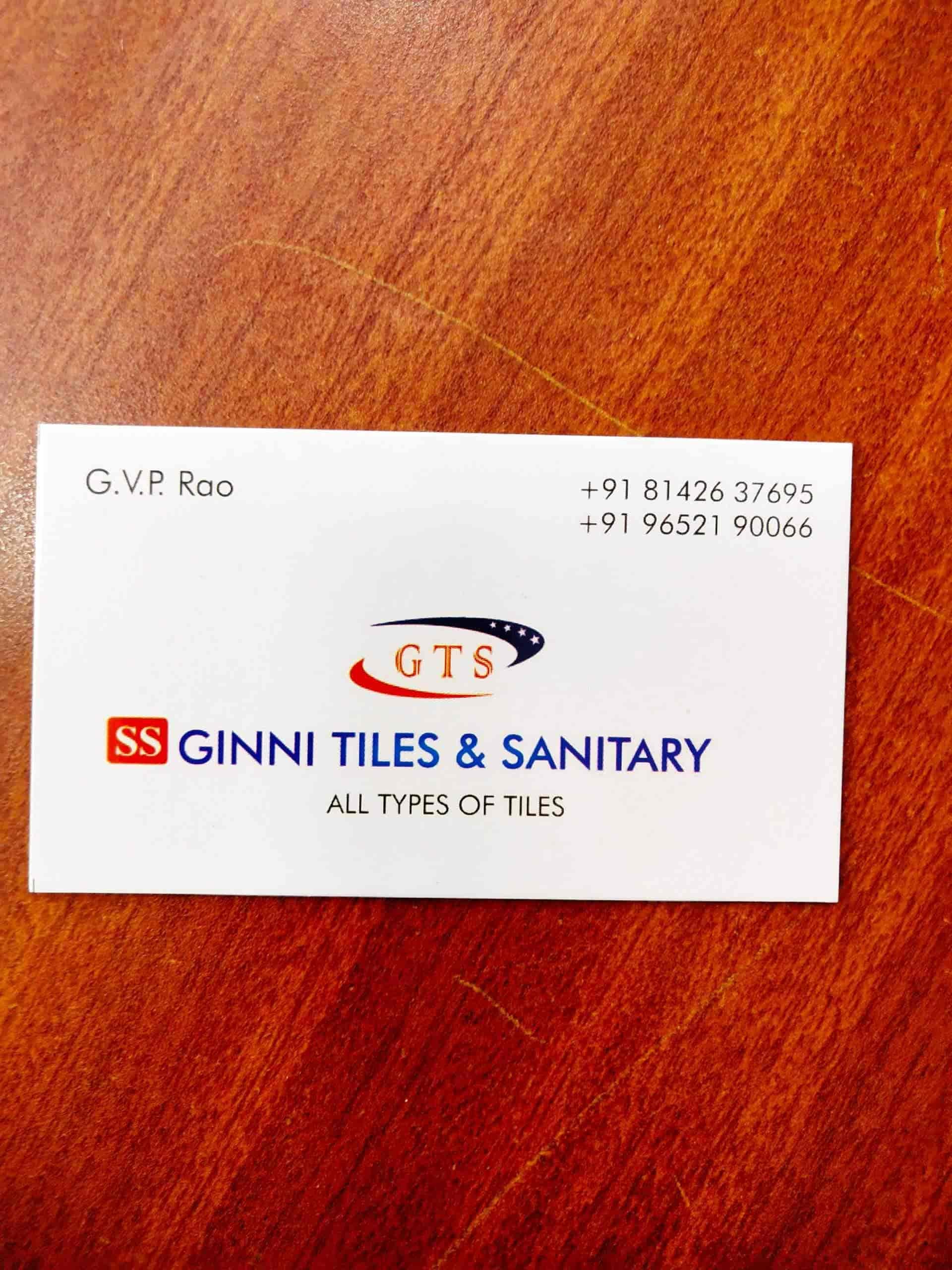 Ginni Tiles & Sanitary, Arundalpet - Tile Dealers in Guntur
