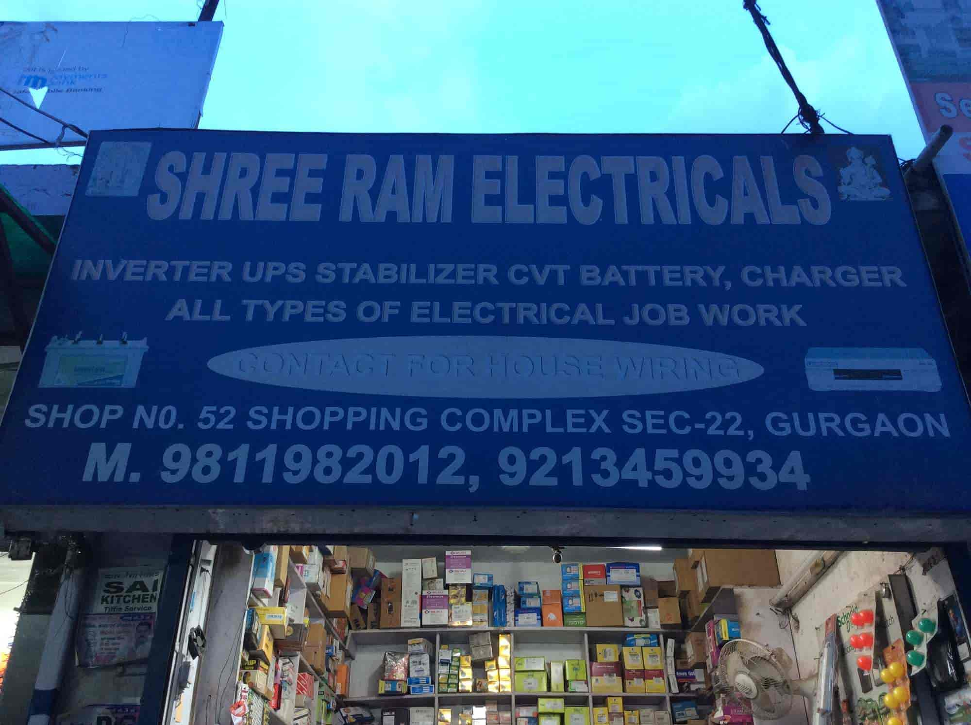 Shree Ram Electrical Sector 22 Raam Electricityhouse Wiring Smart House Electricians In Delhi Justdial